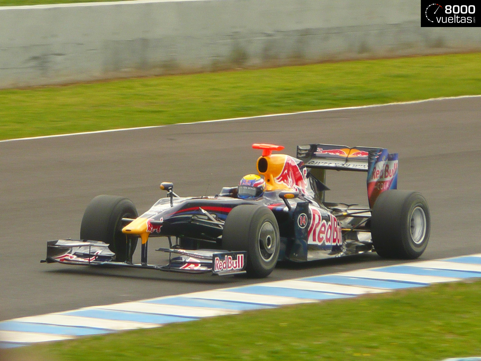 Red Bull RB5 frontal