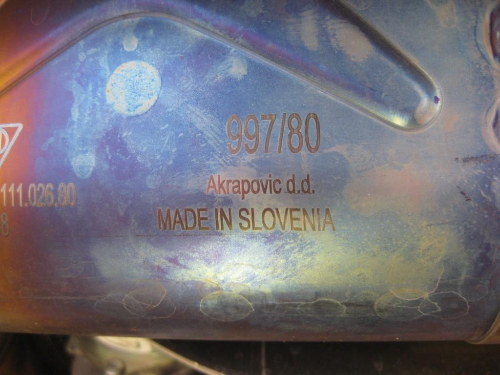 Akrapovic GT2