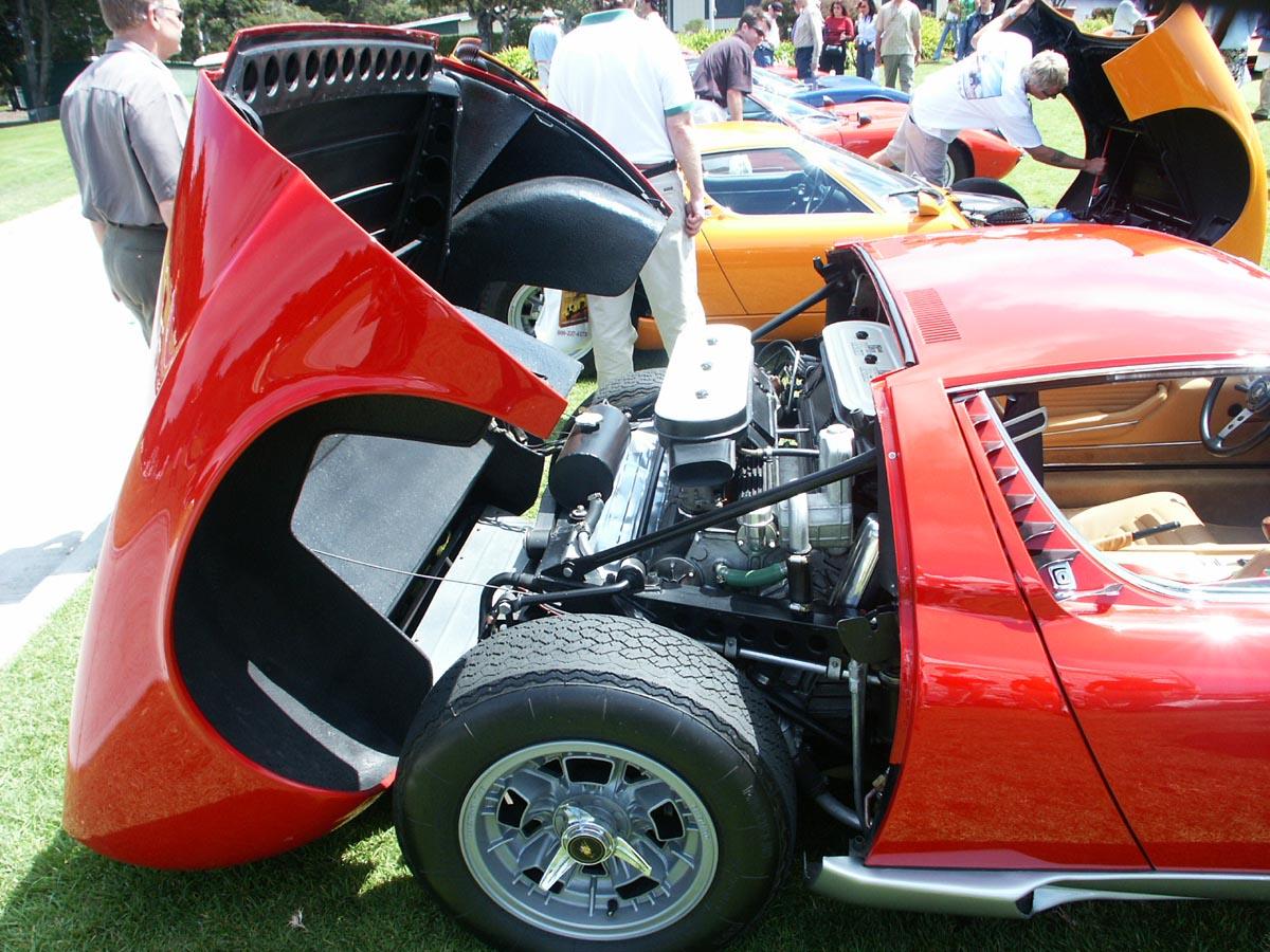 Lamborghini Miura motor