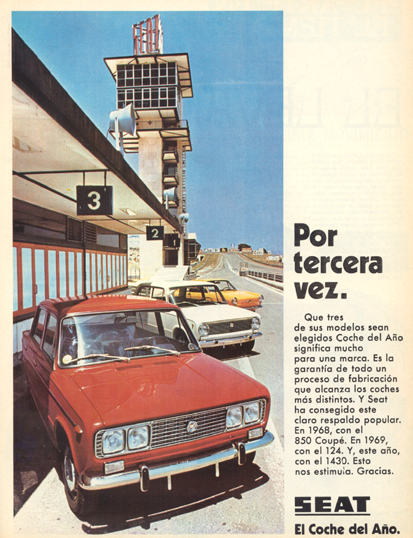 Seat 1430 FD-01 (1970)