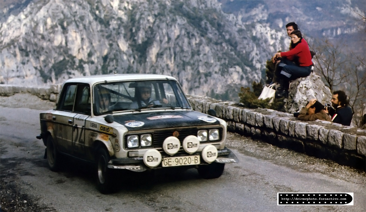Seat 1430 - Salvador Serviá, Montecarlo (1977)