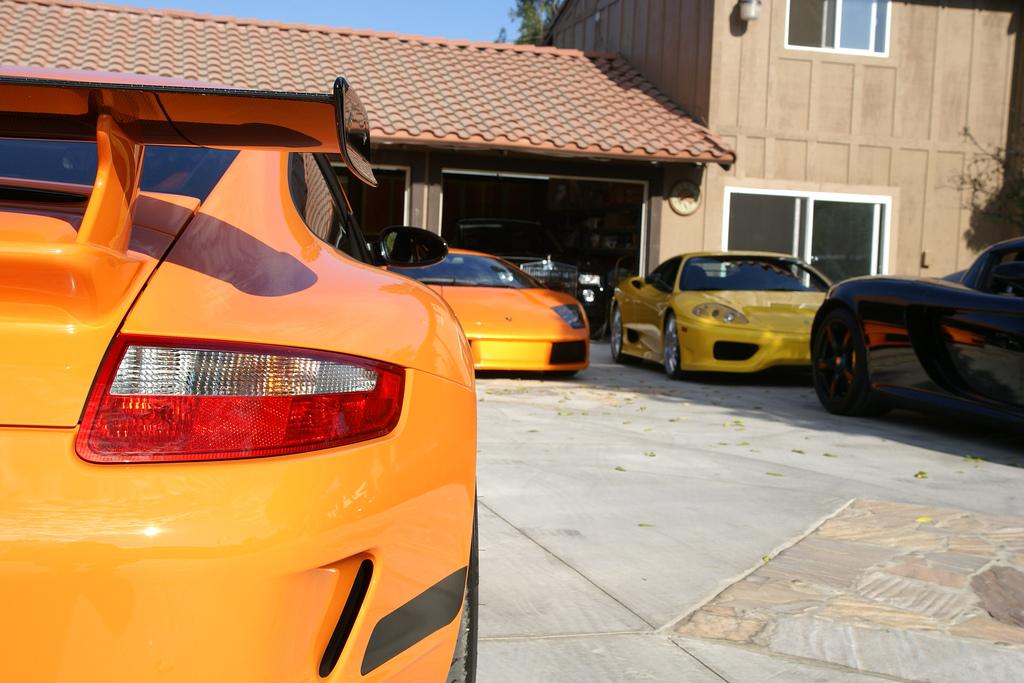 Los cinco coches de mi garaje for Garajes para carros