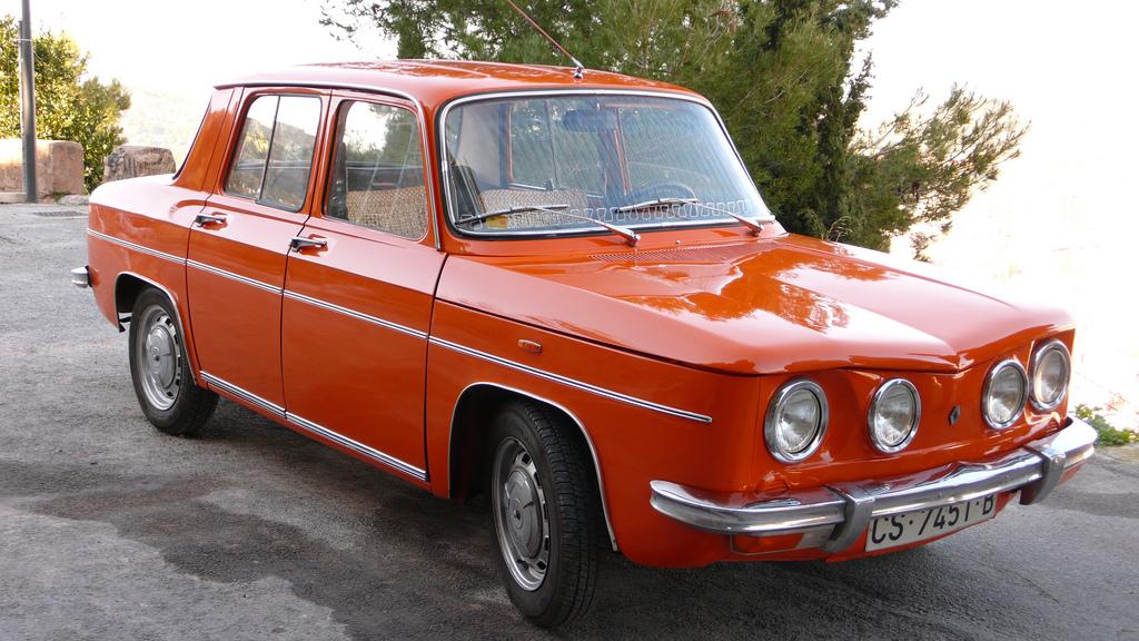 Renault 8 TS, 1968-1976 – 8000vueltas.