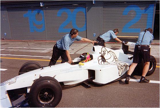 Williams-BMW FW21B, FW21 (Michelin test, 2000, Jörg Müller)
