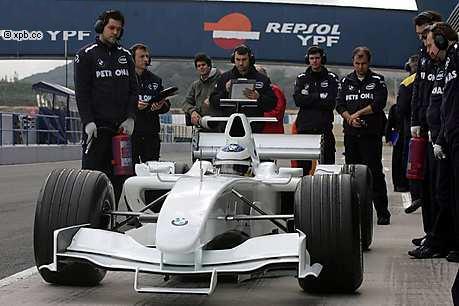 Sauber-BMW C24B (2005, Jerez, Nick Heidfeld)