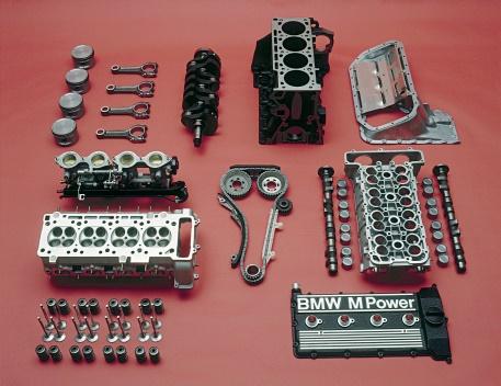 Despiece de un motor BMW S14