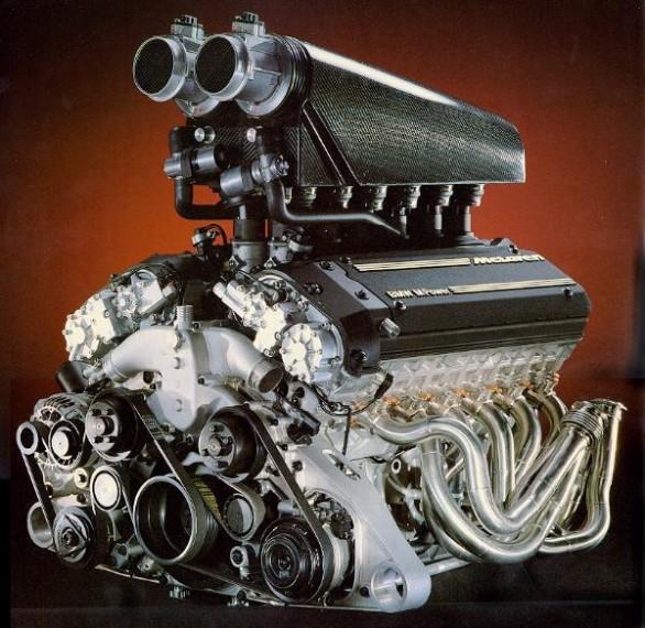 Motor BMW S70/2 montado en el McLaren F1