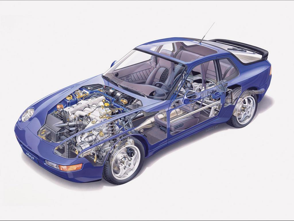 Porsche-968 Cutaway-1280x960