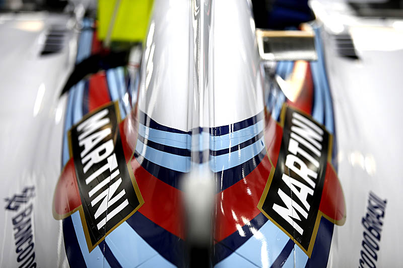 Sepang International Circuit, Sepang, Kuala Lumpur, Malaysia. Saturday 29 March 2014. The rear of the Williams FW36 Mercedes. Photo: Glenn Dunbar/Williams F1. ref: Digital Image _W2Q5255